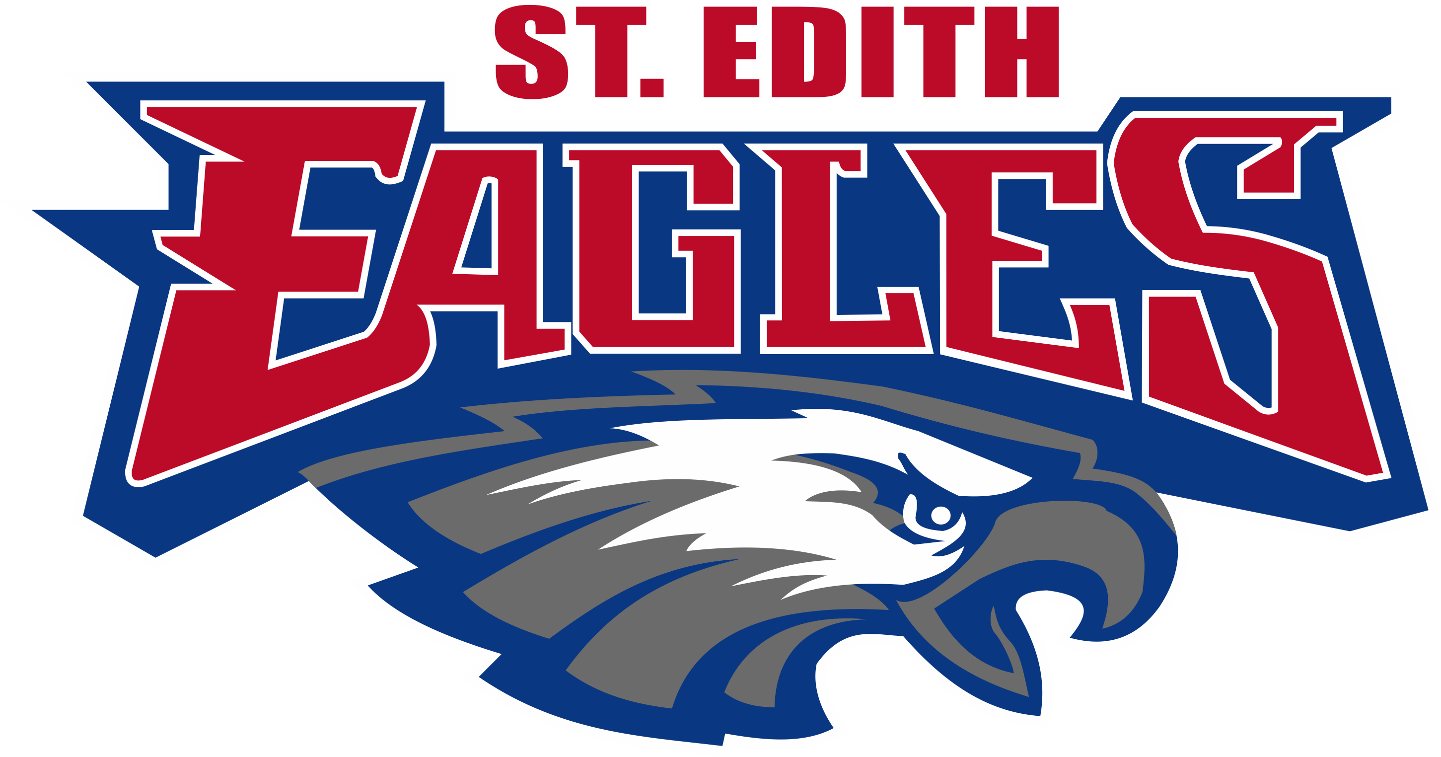 st edith logo on color seperations
